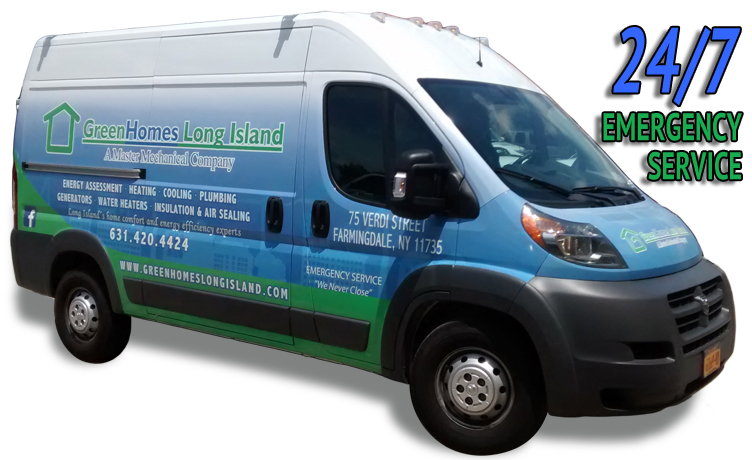 Green Homes Truck